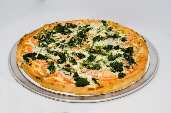 Stonington, CT: Mediterranean Pizza