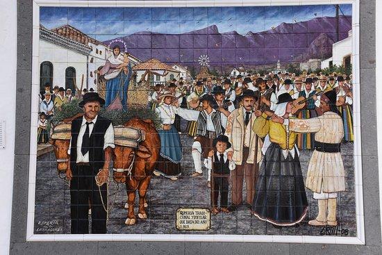 Santa Lucía, España: jolie représentation