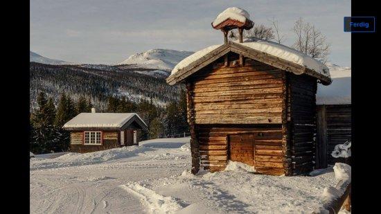 Gausdal Municipality, Noruega: Stabbur på tunet