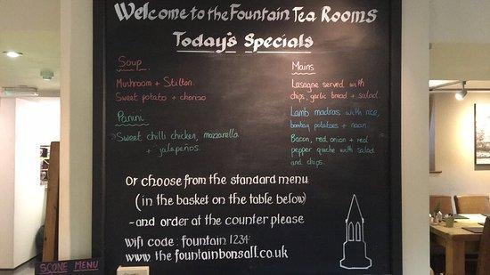 Bonsall, UK: The Fountain Tea Rooms