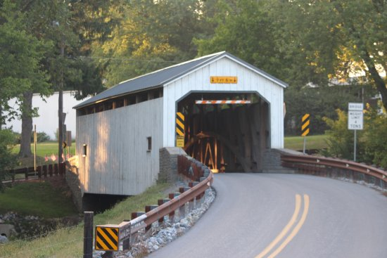 ‪‪Lititz‬, بنسيلفانيا: Keller's Mill Covered Bridge‬