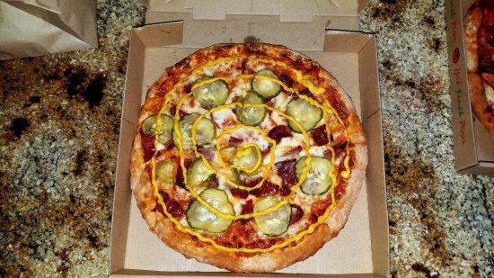 Lakewood, Califórnia: Pastrami Pizza