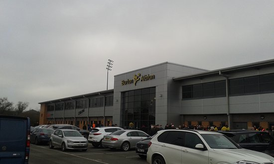 Burton upon Trent, UK: Burton Albion Football Club