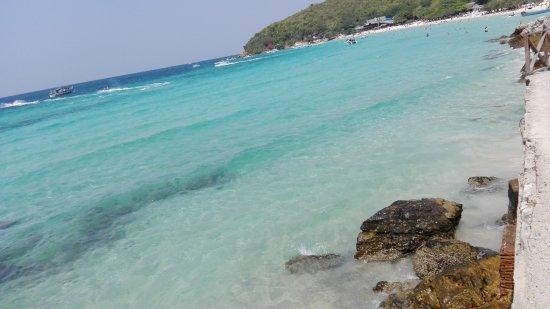 Ko Lan, تايلاند: tien beach, acqua da sogno in piccolo paradiso