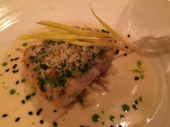 Alan Wong's Restaurant: Onaga in Miso Sesame Vinaigrette