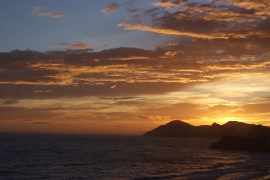 Hotel Cimbel: Sun set from balcony