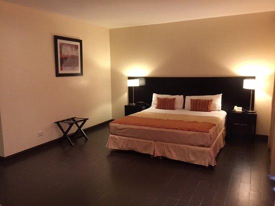 Grand Crucero Iguazú Hotel: Large King Size bed