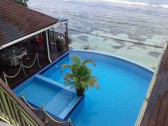 Bel Ombre, Seychelles: Blick aus dem Hotel Treasure Cove
