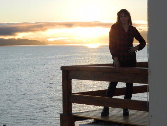 Hotel Patagonia: desde el balcon del comerdor cuando estaba amaneciendo, simplemente hermoso!
