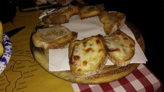 Capannori, Italia: Bruschette