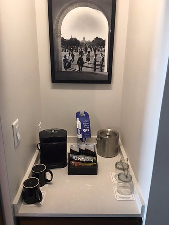 Coffee Station Picture Of At T Hotel And Conference Center