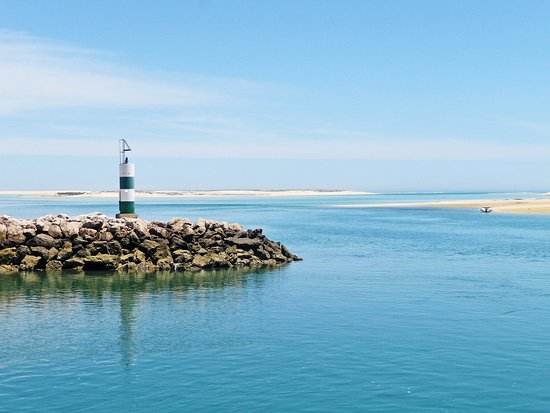 Fuseta, Portugal: A lighthouse
