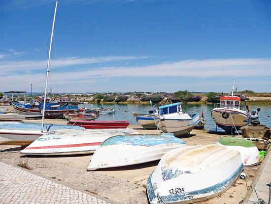 Fuseta, Portugal: Fishing boats