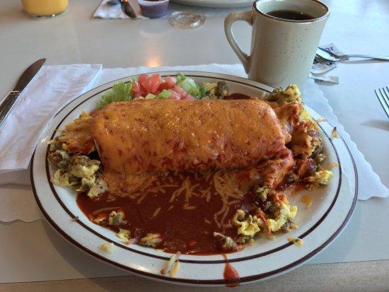 Tucumcari, NM: Chicago Smothered Burrito