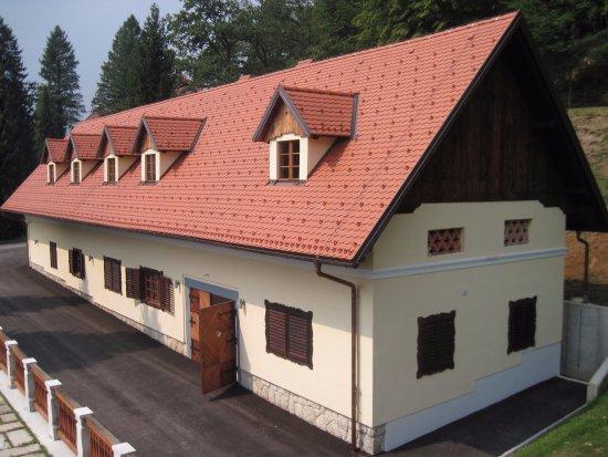 Cerklje, Slovenia: House with sweet shop