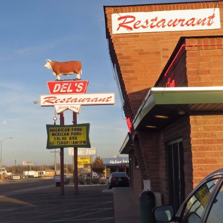 Tucumcari, Nowy Meksyk: Convenient right on Route 66