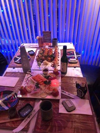 Ludlow, MA: Blue Water Sushi