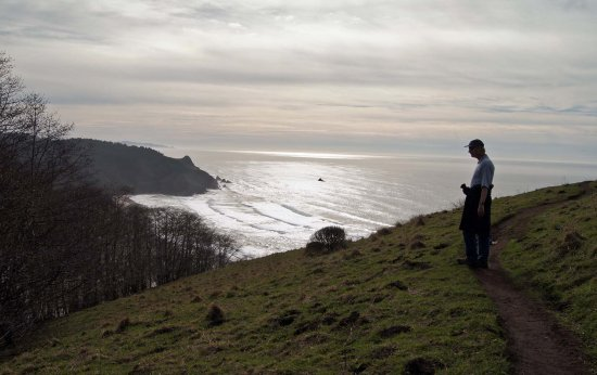 Otis, OR: Lower viewpoint on Cascade Head