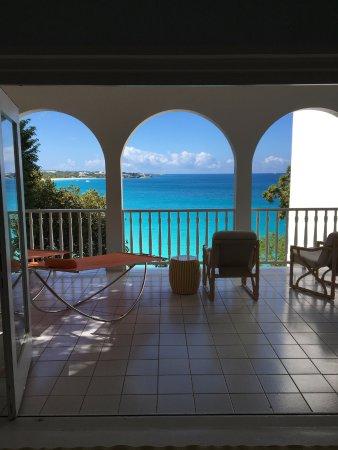West End Village, Anguilla: View from Jasmine villa