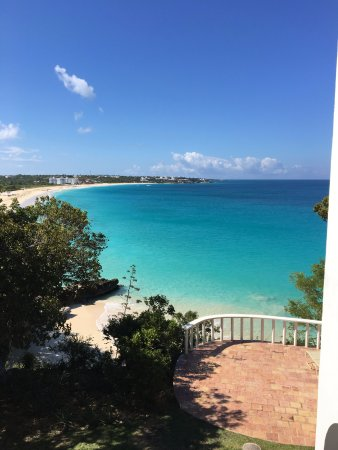 West End Village, Anguilla: View from Jasmine villa balcony