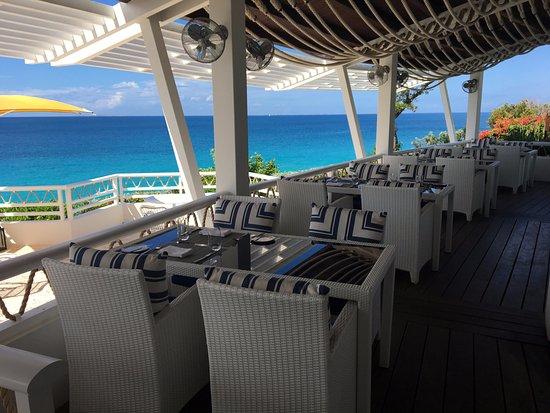 West End Village, Anguilla: Restaurant view