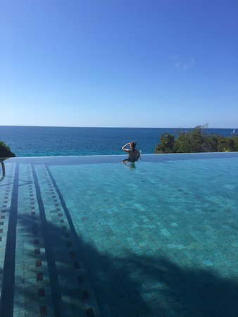West End Village, Anguilla: Start the day on the beach, then afternoon at the pool