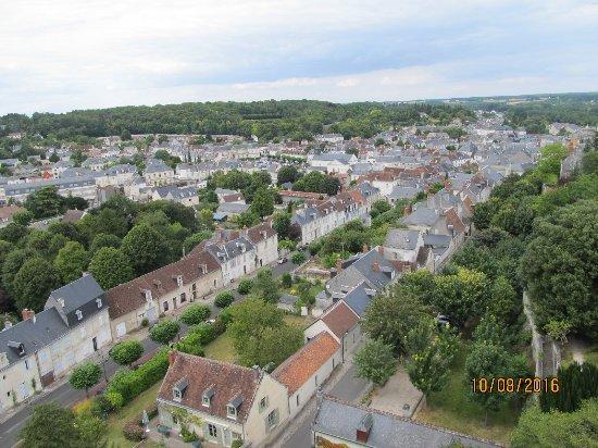Uitzicht over Loches