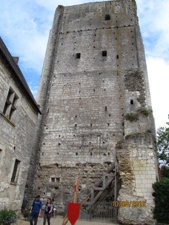 Loches, Francia: De Donjon uit de 11e eeuw.