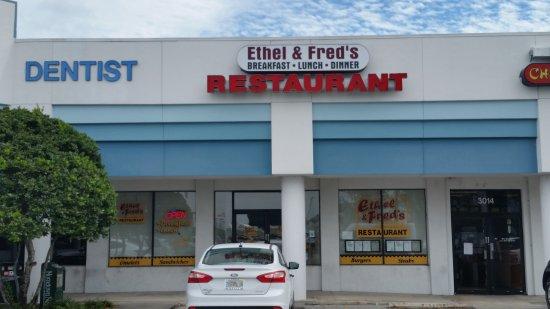 West Melbourne, Floryda: Ethel & Fred's Restaurant