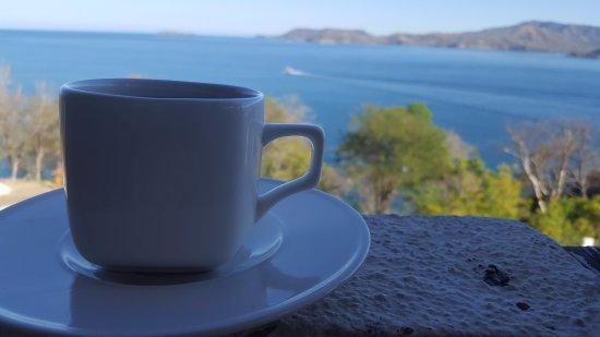 Paradise Flamingo Beach: Una taza de café a la hora del desayuno