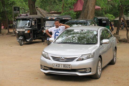 Weligama, Sri Lanka: Unser Auto mit Priantha