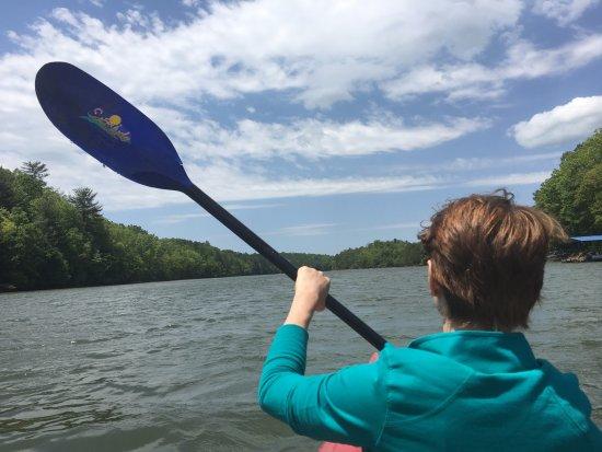 Blairsville, GA: Kayaking!