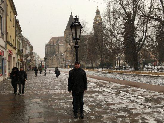 Kosice, Slowakei: Вид на юг