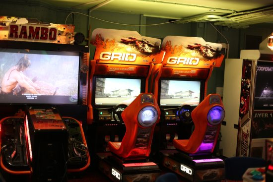Las Vegas Arcade Soho : there are booths like these