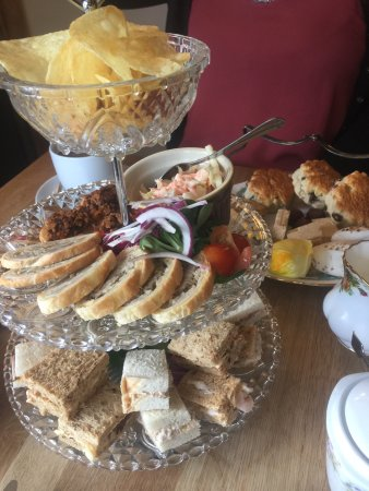 Caersws, UK: Afternoon tea