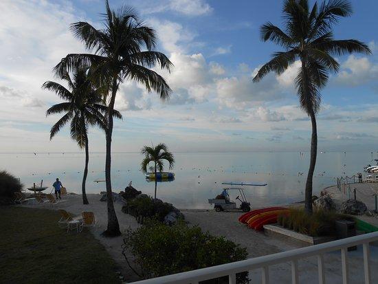 Postcard Inn Beach Resort & Marina at Holiday Isle: Beach and ocean swimming write outside our room