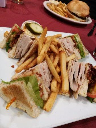 Cranbury, NJ: club sandwich
