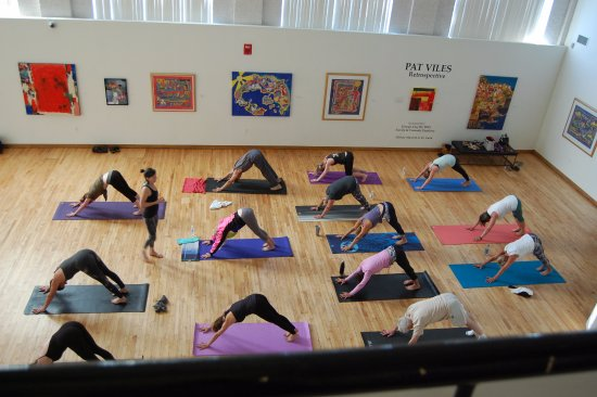 Hickory, NC: Morning Yoga with the Art