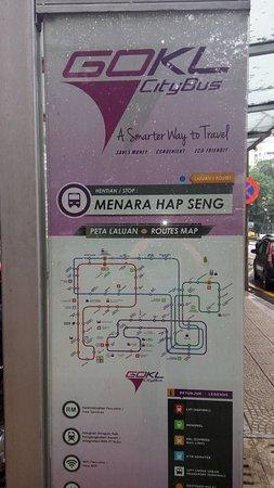 GoKL bus stop Picture of GO KL City Bus Kuala Lumpur TripAdvisor