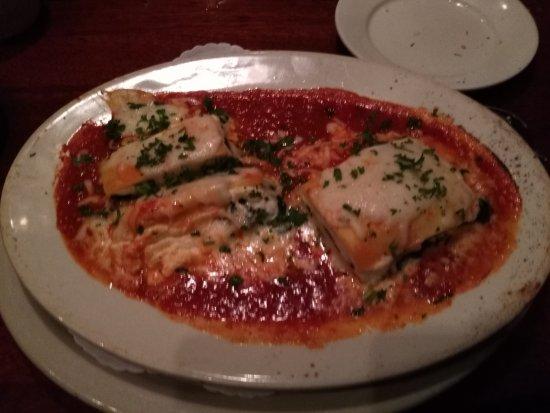 Zia Marie : Spinach Lasagna