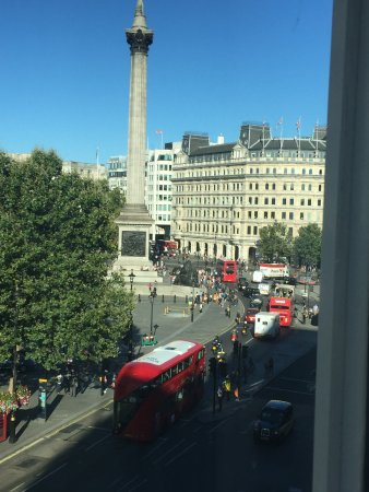 The Trafalgar Hotel: View from room