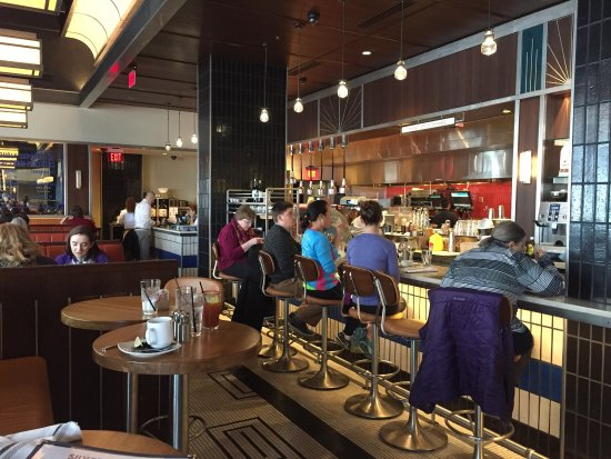 Bethesda, MD: Silver is a great restaurant with many healthy food options
