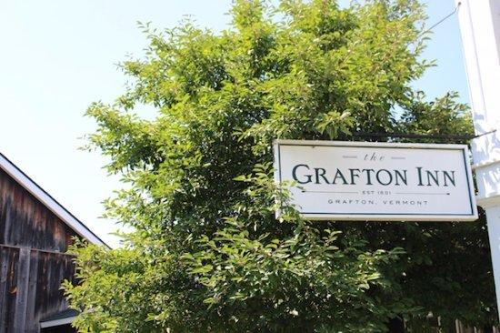 Outside the Grafton Inn