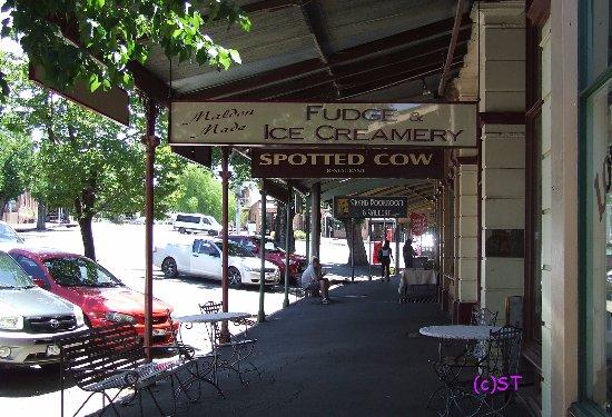Maldon, Australia: Old style veranda