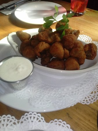 Red Bank, Nueva Jersey: Fried Mushrooms
