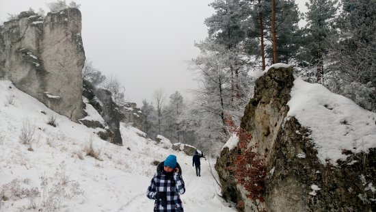 Gora Zborow - Jaskinia Głeboka w Podlesicach