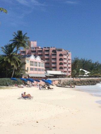 Barbados Beach Club: from the beach
