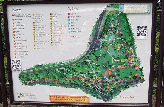 Cascade gardens hobart map garden ftempo for Garden design hobart
