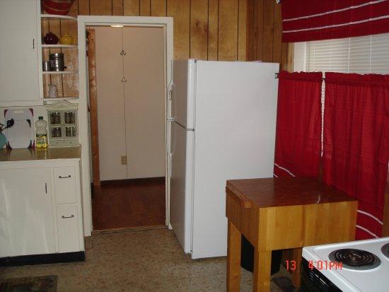 Northport, WA: Gardenside kitchen