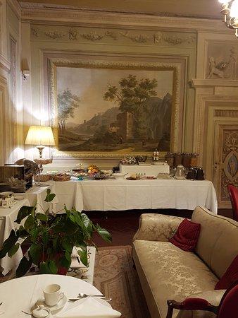Palazzo Niccolini al Duomo: Breakfast/sitting room